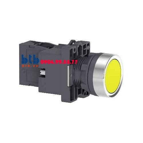 Schneider – Nút nhấn có đèn báo ø22 24V AC/DC màu vàng