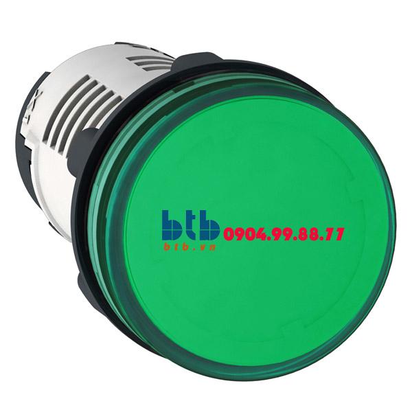 Schneider – Đèn LED điện áp 24Vdc màu xanh lá