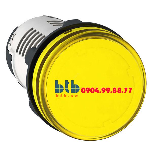 Schneider – Đèn LED điện áp 24Vdc màu vàng