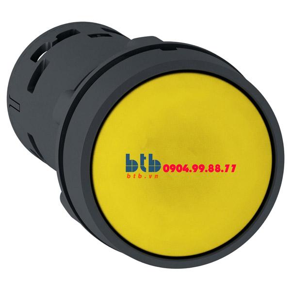Schneider – Nút nhấn nhả 22mm N/O màu vàng