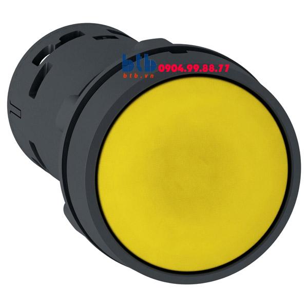Schneider – Nút nhấn nhả 22mm N/O+N/C màu vàng