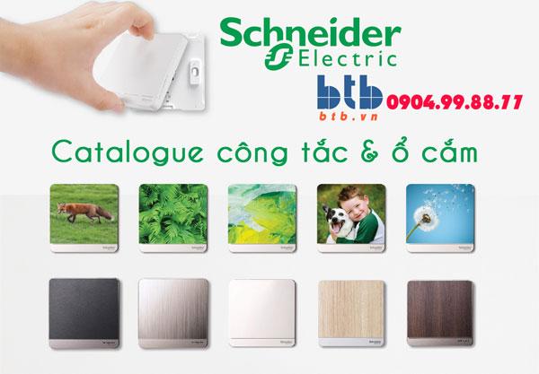 Catalogue công tắc, ổ cắm Schneider
