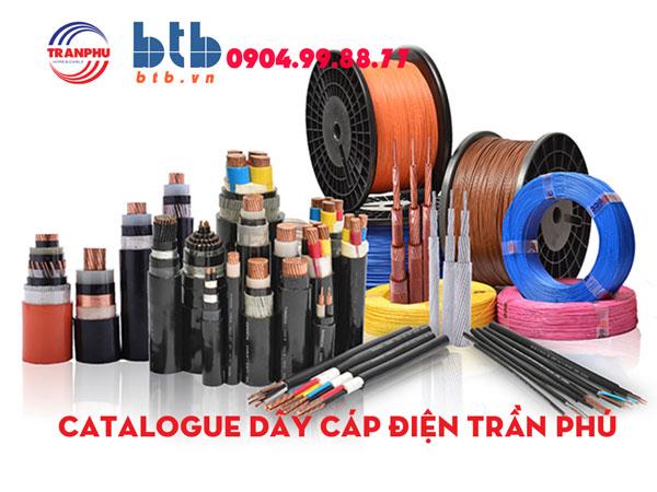 Catalogue dây, cáp điện Trần Phú