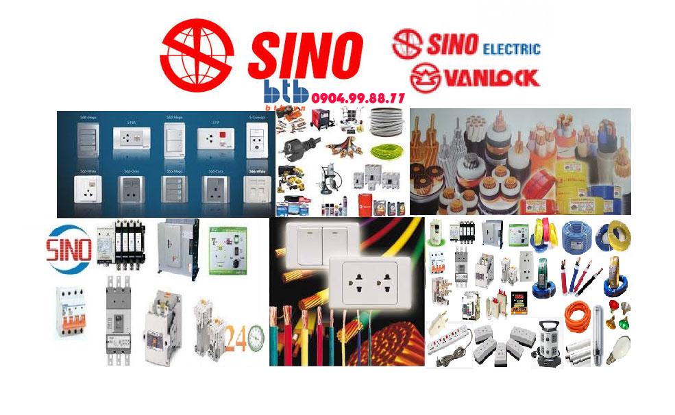 Catalogue công tắc ổ cắm Sino