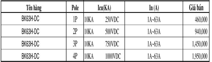 Thiết bị điện ls - Bảng báo giá ls 2021 Excell + PDF mới nhất