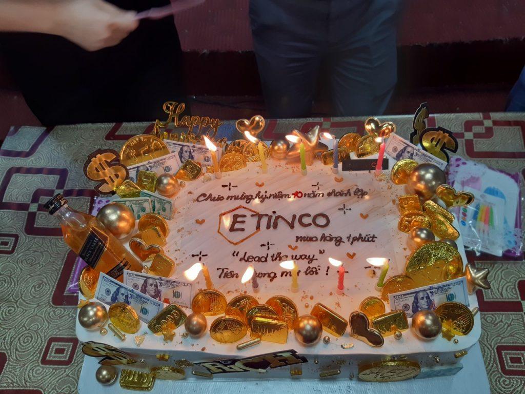 Etinco - 10 năm một chặng đường