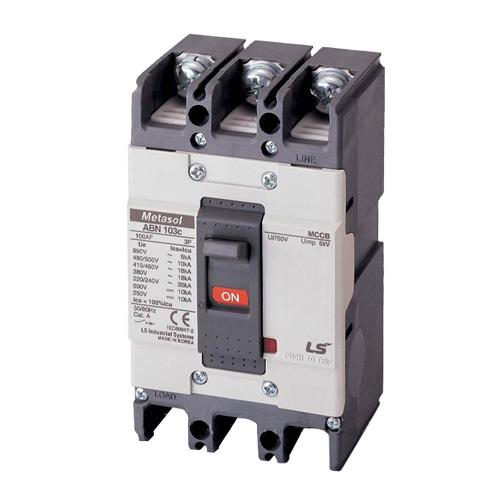 ABN103c 100A – Aptomat LS MCCB 3P 100A 22kA